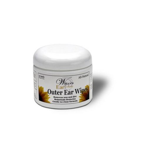 WALLY'S NATURAL PRODUCTS INC Outer Ear Wipes