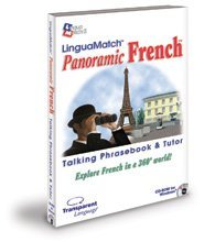 LinguaMatch Panoramic French Talking PhraseBook & Language Tutor