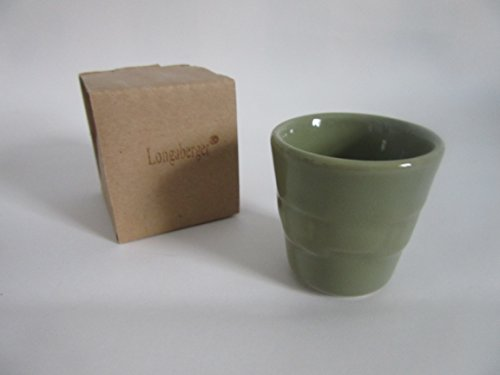 - Longaberger Toothpick Holder Sage Pottery