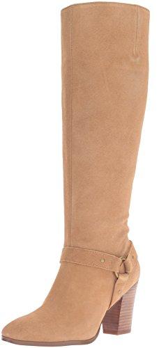 Lauren Ralph Lauren Women's Fareeda Boot, Camel Sport Suede, 6 B US