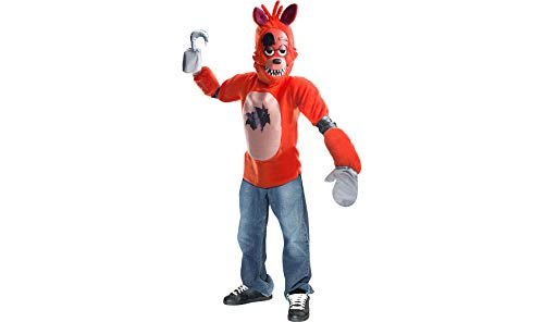 Rubie's Boy's Kid's Five Nights at Freddy's Deluxe Foxy Costume, Small