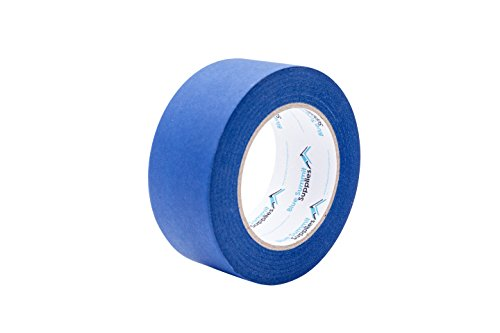 3 Pack 1.88'' Blue Painters Tape, medium adhesive that sticks well but leaves no residue behind, 60 yards Length, 3 Rolls, 180 Total Yards by Blue Summit Supplies (Image #2)