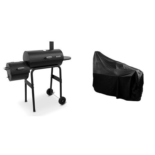 char-broil-american-gourmet-offset-smoker-standard-cover