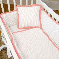 Babydoll The MOD Cradle Bedding Set, Strawberry