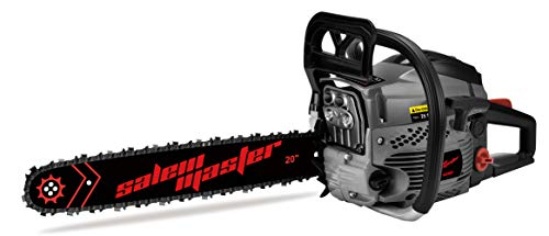 SALEM MASTER 6220F 62CC 2-Cycle Gas Powered Chainsaw, 20-Inch Chainsaw, Handheld Cordless Petrol Gasoline Chain Saw for Farm, Garden and Ranch