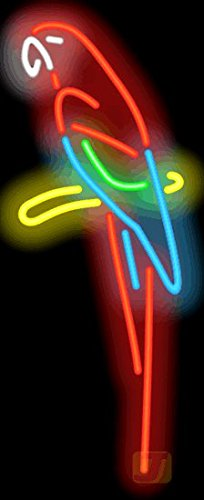 Parrot Neon Sign by Jantec Sign Group