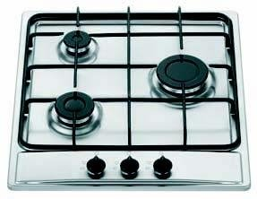 Nardi THS 30 AV X built-in Gas Stainless steel hob: Amazon.it ...