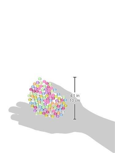 Amazon.com: eDealMax 99 piezas de plástico granos del potro del acuario, colorido: Pet Supplies