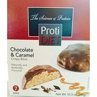 Proti Diet Chocolate & Caramel Crispy Bites-7 Bars, 10.3 oz