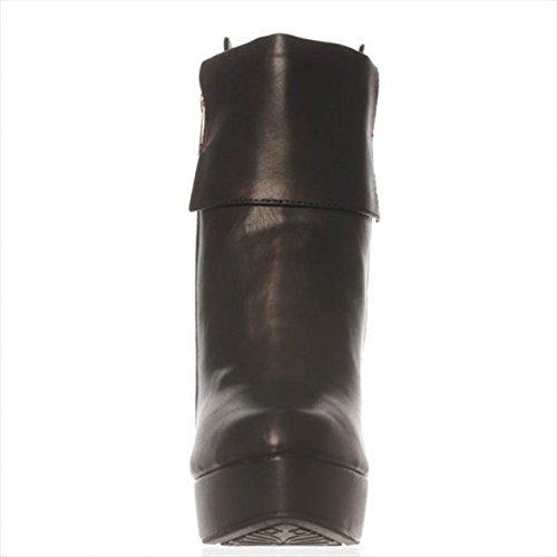 Fashion ShoeDazzle Jada Womens Black Boots Almond Ankle Toe dAqarAnX