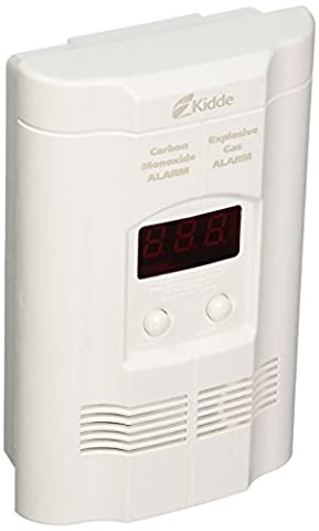 Kidde KN-COEG-3 Nighthawk Plug-In Carbon Monoxide and Explosive Gas Alarm with Battery Backup (Plugin Alliance)
