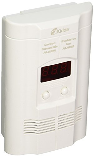 Kidde KN-COEG-3 Nighthawk Plug-In Carbon Monoxide and Explosive Gas Alarm with Battery Backup - Kidde Carbon Monoxide