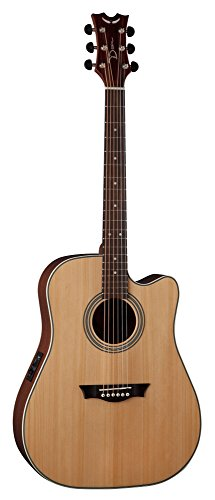 Dean SADC GN Acoustic-Electric Guitar, Gloss Natural