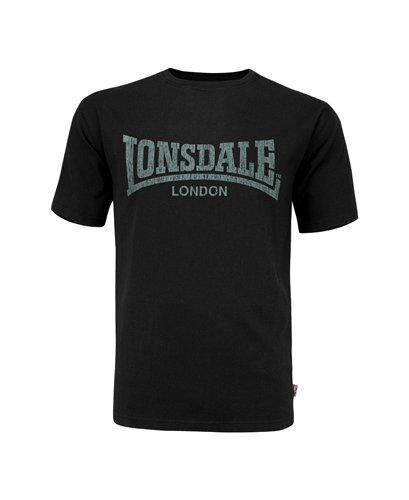 TALLA L (UK M). Lonsdale London Hombres Ropa Superior/Camiseta Logo Kai