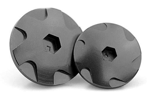 elegantstunning CNC Aluminium Engine Protective Protect Cover Engine Igntion Cover Plug for KTM DUKE390 13-16 black: