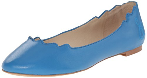 Sam Edelman Women Augusta Ballet Flat, Malibu Blue, 7.5 M Ons