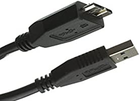 C&E CNE467516 6-Inch USB 3.0 A Male to Micro B Cable, Black