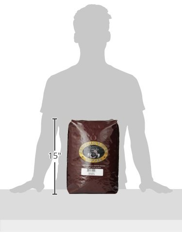 Jeremiah's Pick Coffee Organic French Roast Whole Bean Coffee, 5-Pound Bag
