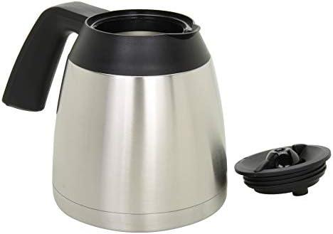 Capresso 444.05 Carafe, 10 cup, Black