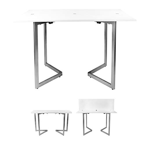 (SpaceMaster Corner Housewares Expanding Console Table, One)