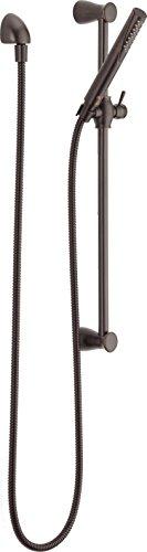 Handheld Slide (Delta Faucet 57085-RB Grail, Hand Shower-Slide Bar, Venetian Bronze)