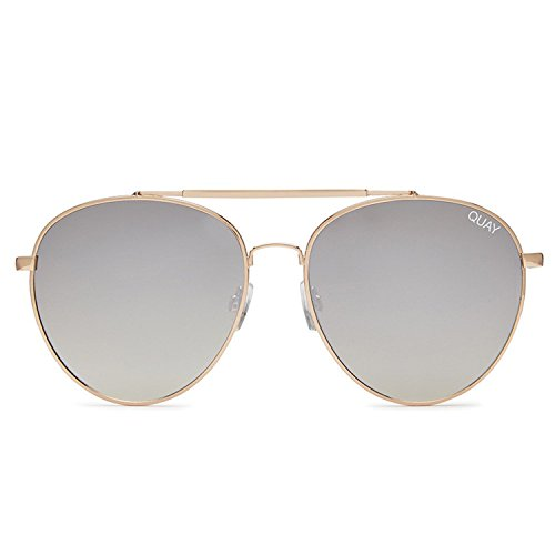Quay Australia LICKETY SPLIT Women's Sunglasses Bold Round Aviator - - Sunglasses Split