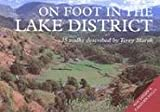 On Foot in the Lake District: Northern and Western Fells by Terry Marsh front cover