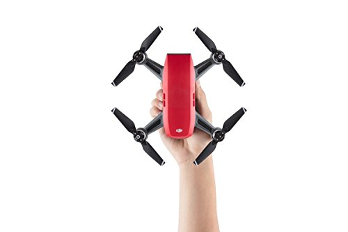 DJI Spark, Fly More Combo, Lava Red (Renewed)
