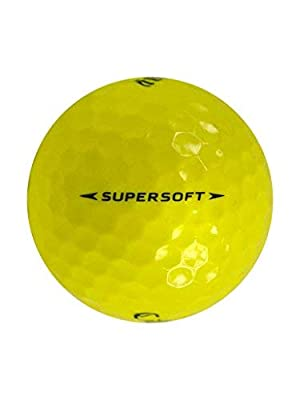 Callaway 36 Supersoft Yellow - Mint (AAAAA) Grade - Recycled (Used) Golf Balls
