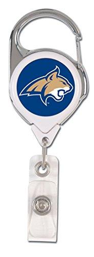 Montana State Bobcats Premium Badge Reel, Domed Acrylic Decal - Acrylic Badge