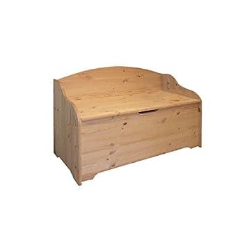 cassapanche bauli in legno tirolese 100x41x67: amazon.it: casa e ... - Bauli Per Camera Da Letto