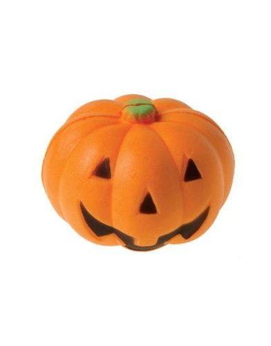 US Toy Halloween Pumpkin Jack O Lantern Stress Squeeze Ball Party Favors - Pack of 12]()