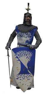 TERRY-JONES-AS-SIR-BEDEVERE-The-Dirty-Knights-Collection-Muddy-Version-12-Inch-Monty-Python-and-the-Holy-Grail-2002-Sideshow-Toy-Collectible-Action-Figure