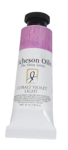 Jack Richeson 37-Ml Artist Oil Colors, Cobalt Violet Light (Violet Light Cobalt)