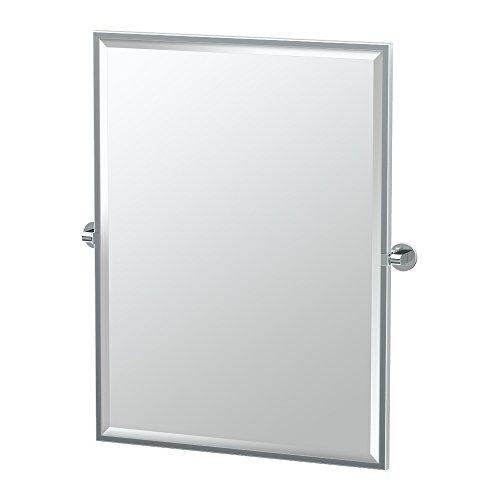 Gatco Zone Framed Rectangle Mirror 4109FS Chrome 28-in W x 3