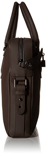 Baker Ozboz Leather Ted mens Document Brown Rubber Messenger Bags fAnFU1
