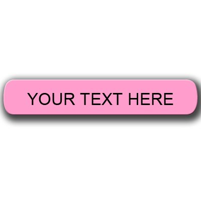 Iron on Clothing Labels - Qty 120PINK LABELS Personalized with Your Name!!