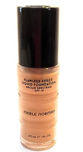 Merle Norman - Flawless Effect Liquid Foundation Broad Spectrum SPF - 15 - L22 (Diffuser Spf 15 Foundation)