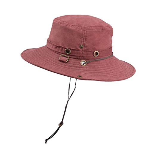 Women's Gatsby Linen Cloche Hat with Lace Band and Flower Red