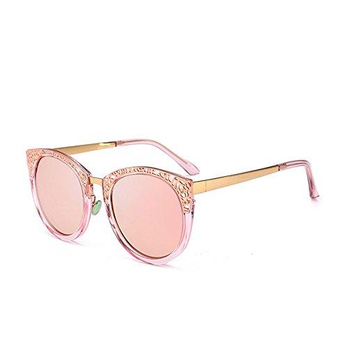 Color Protección del para Gu Elegante C5 Peggy Ultravioleta C2 Diseño Sol Mujeres Retro Las Hueco de la Gafas de BxYqRa8