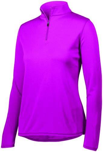Augusta Sportswear Women's Attain 1/4 Zip Pullover M Power Pink
