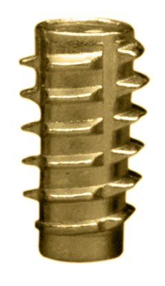 1/4 Flush (E-Z Lok Threaded Insert, Zinc, Hex-Flush, 1/4