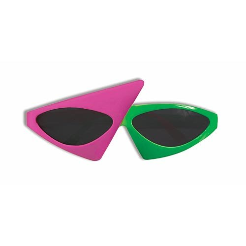 Forum Novelties 2 Tone Glasses, Neon