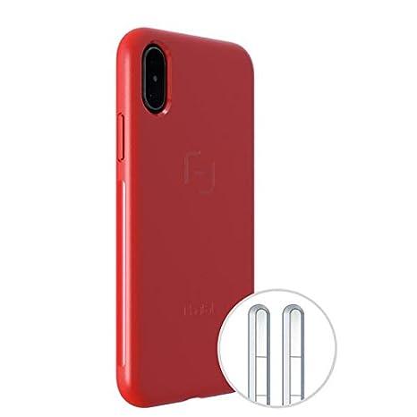 MagBak IPhone X   Minimalist Schutzhülle (Rot)