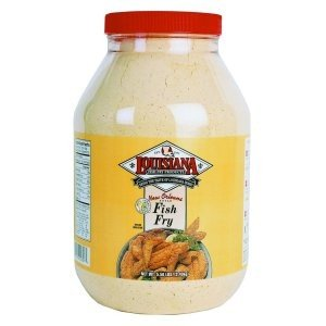 LOUISIANA Fish Fry Products New Orleans Style Fish Fry with Lemon 1 Gallon (5.50 lbs)