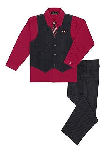 Stylish Dress Suit Outfit Pant, Vest & Tie