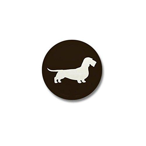 CafePress - Wirehaired Dachshund Mini Button - 1