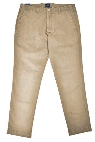 (GAP Men's Khakis Lived in Slim Leg Casual Khaki Pants Academy Beige (38W x 30L) )