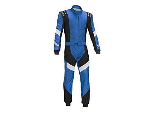 Sparco 00110856AZNR Racing Suit X-Light RS7 56 Blue