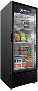 Door Display Fridge (Imbera 12 Cft Commercial Refrigerator Single Glass Door Display Vr12)